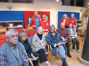 Novoletni obisk aktivistov Rdečega križa iz Ilirske Bistrice