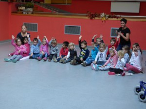 Simbioza gibanja z otroci vrtca Jožefe Maslo