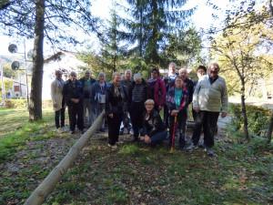 Obisk Nove vasi in ogled obnovljene stiskalnice