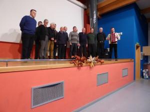 Nastop moškega pevskega zbora Dragotin Kette