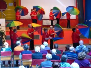 Nastop plesne skupine Štorovke