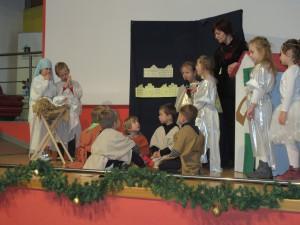 Obisk otrok iz Vrtca Antonina