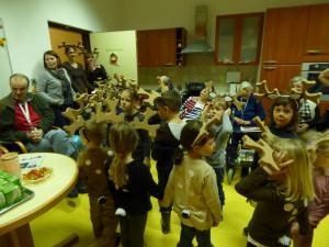 Na obisku otroci iz vrtca Jožefe Maslo