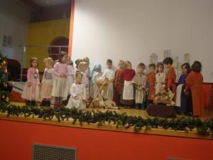 Obisk otrok iz vrtca Antonina – Božična zgodba.